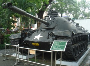 Tank-in-War-Remnants-Museum-Vietnam