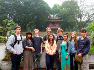 Hanoi-City-Tour-Student-Travel-Group-Picture