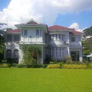 Opposition leader Aung San Suu Kyi's residence where she was kept under house arrest.