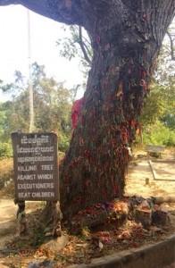 Choeung Ek Genocidal Center, Cambodia.