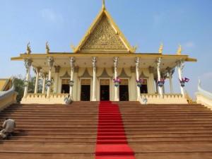 Royal Palace, Phnom Penh, Cambodia,