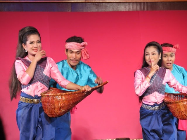Cambodia Living Arts, Fishing Dance Performance