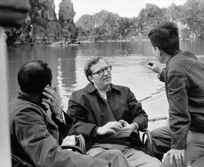 Hersh at work in North Vietnam, in 1972, three years after he broke the massacre story. COURTESY SEYMOUR M. HERSH